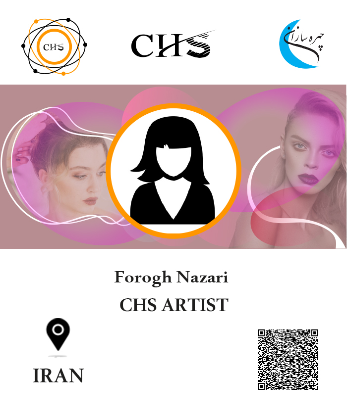 Forogh Nazari, Makeup training certificate, Makeup, Makeup certificate, Makeup training, Makeup training Forogh Nazari, Makeup certificate Forogh Nazari